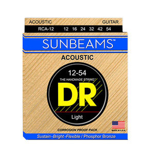 ★딴따라몰★정말빠른배송★ DR SUNBEAM 12-54 Acoustic Phosphor bronze/Round core [012-054]